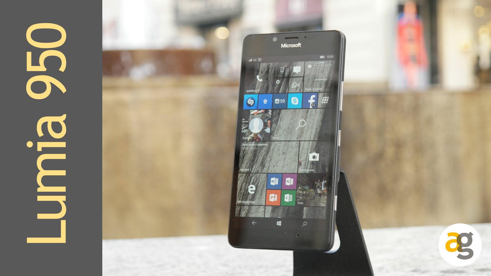 Microsoft Lumia 950 Recensione Andrea Galeazzi