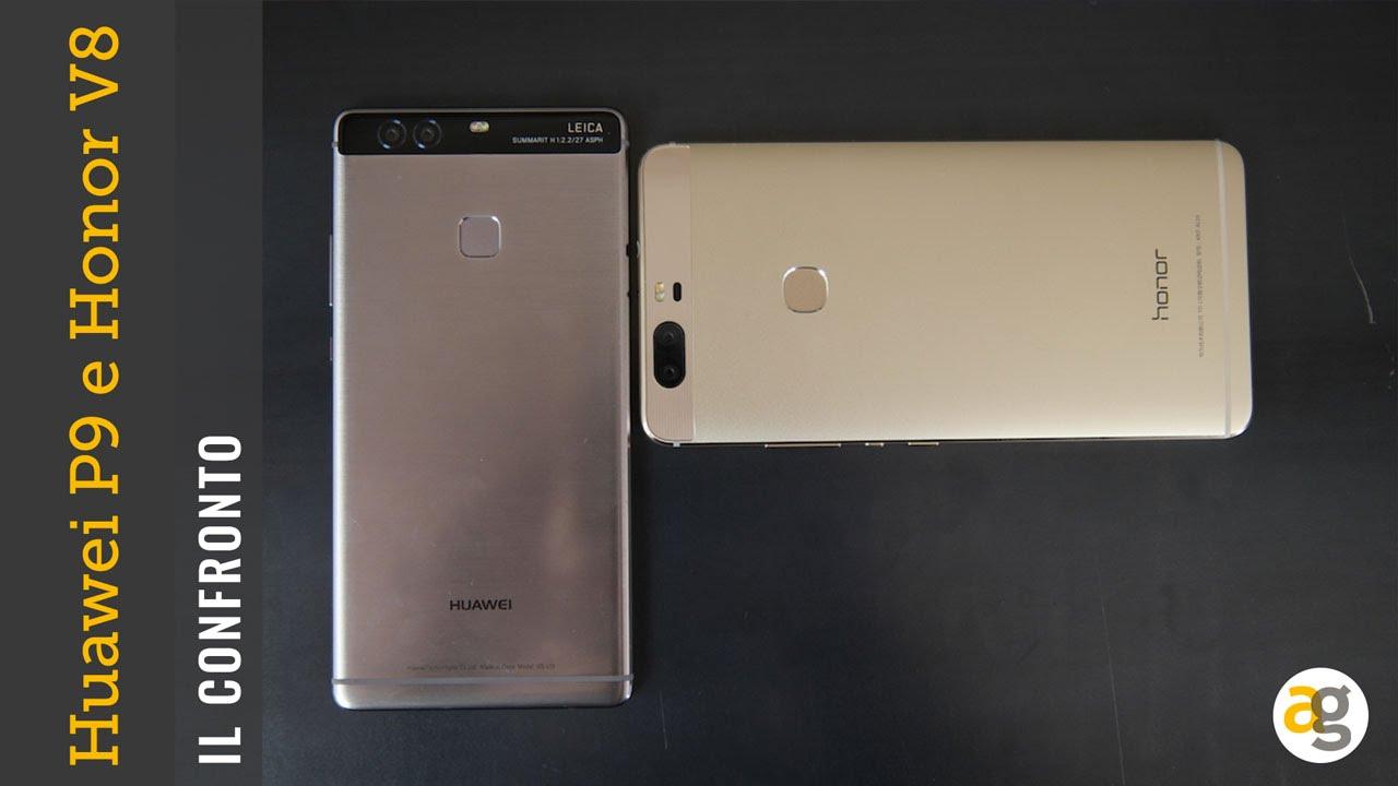 Huawei P9 Plus O Honor V8 Il Confronto Andrea Galeazzi