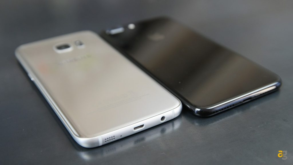 Confronto iphone 7 e samsung galaxy s7 edge