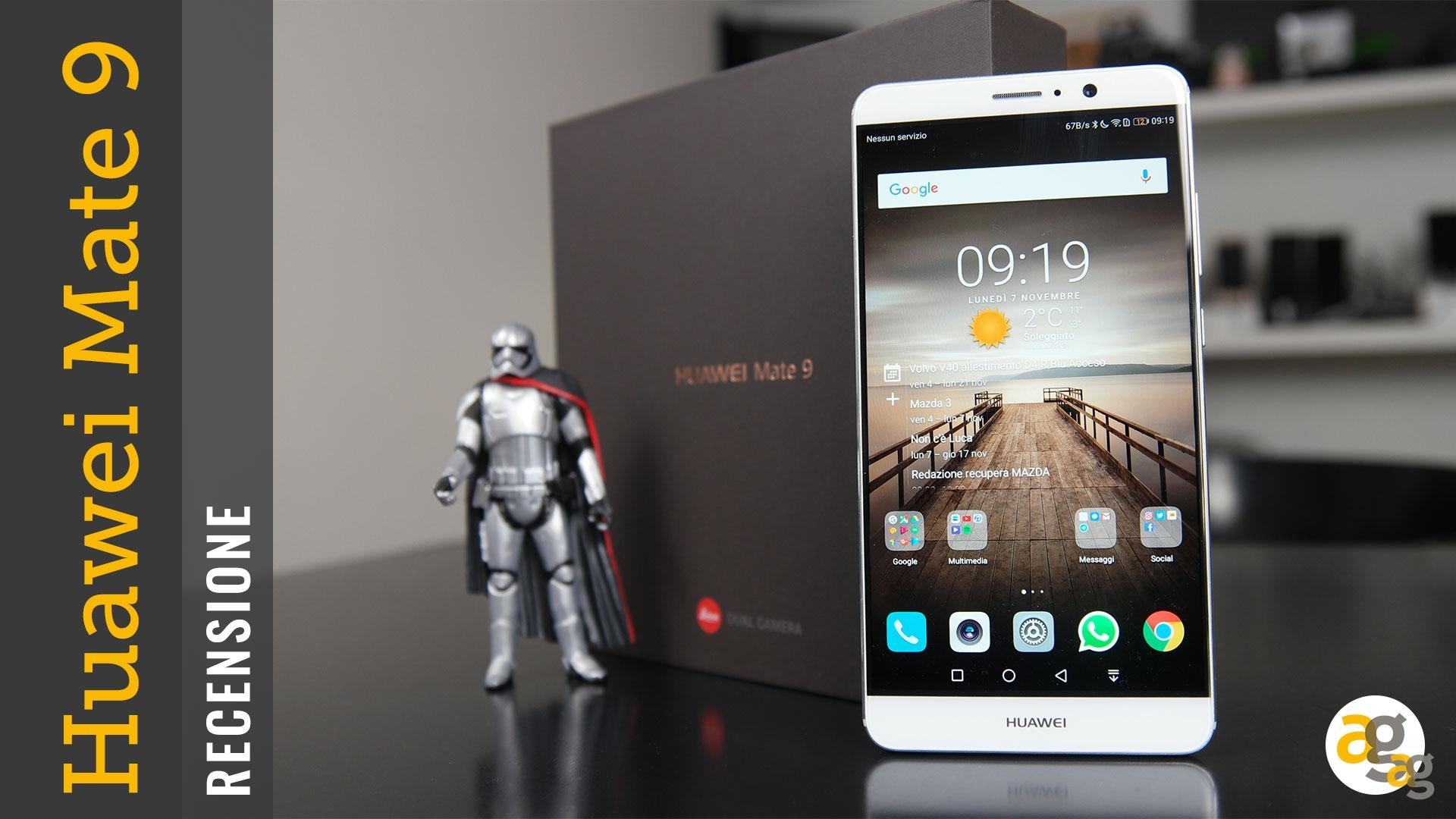 Huawei Mate 9 Recensione Andrea Galeazzi
