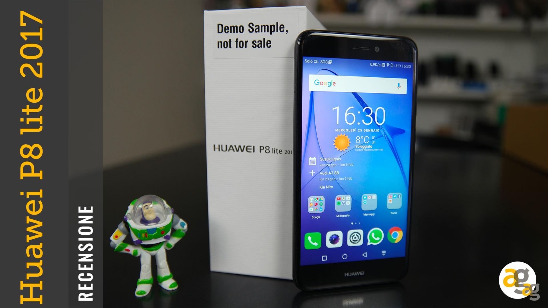 Huawei P8 Lite 2017 Recensione Andrea Galeazzi