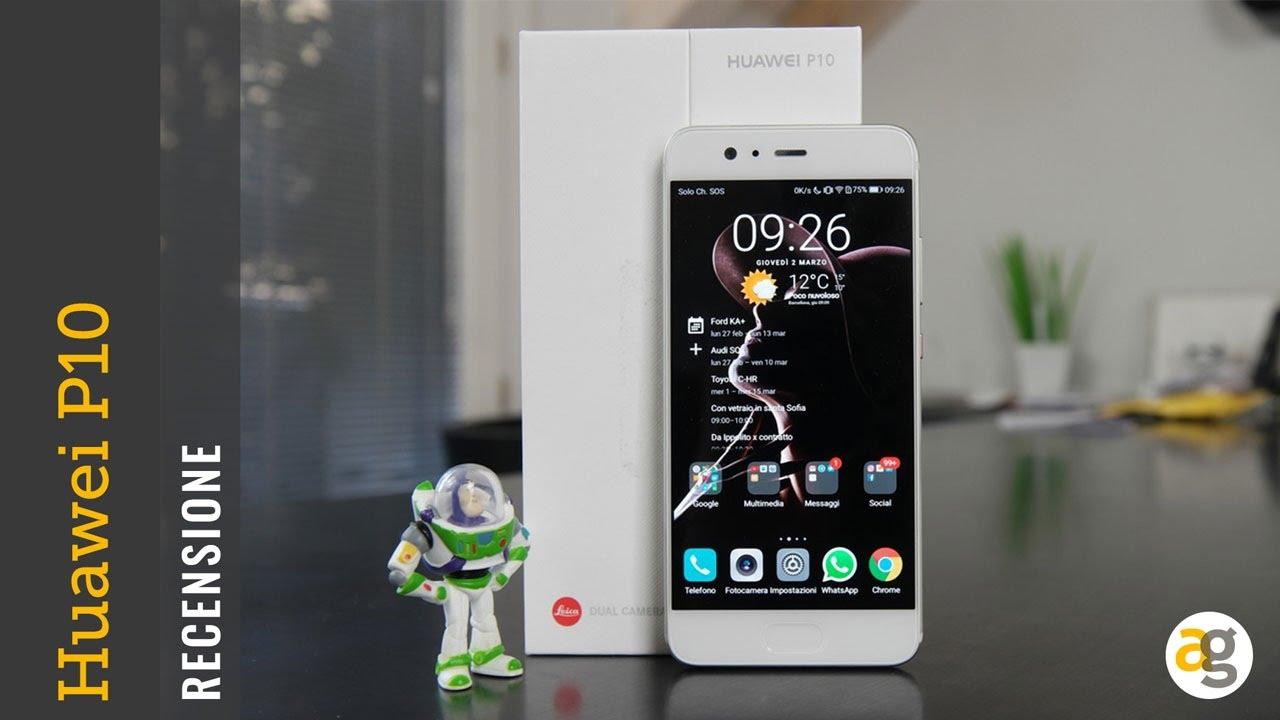 Huawei P10 Recensione Andrea Galeazzi
