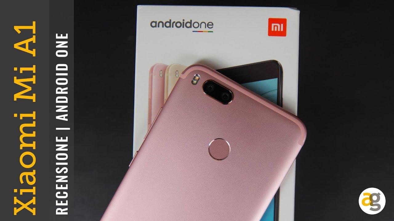 Recensione Xiaomi Mi A1 Androidone Andrea Galeazzi