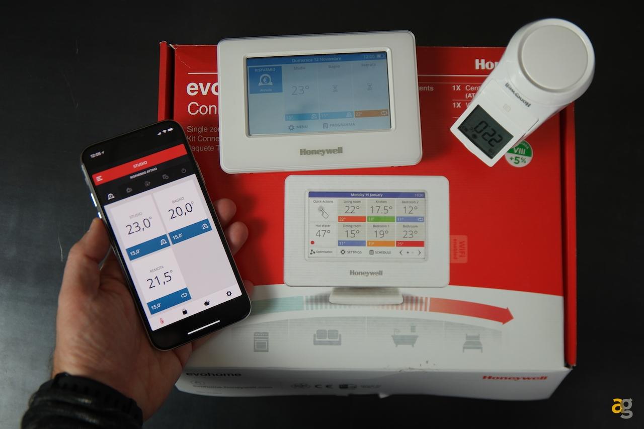 Recensione Termostato Smart E Sistema Honeywell Evohome Andrea