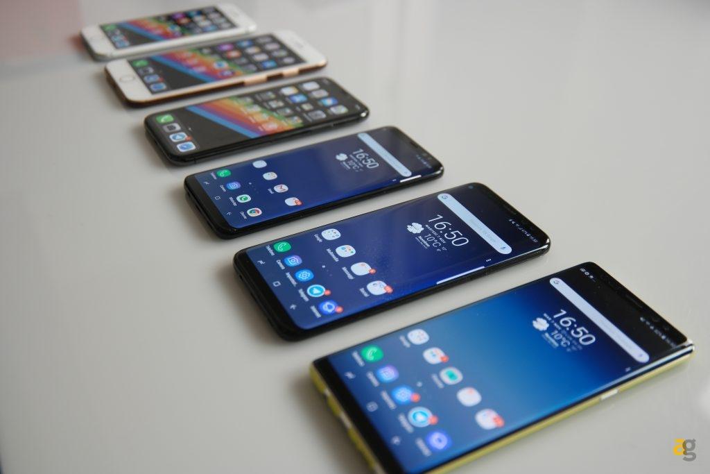 IPHONE X CONTRO SAMSUNG NOTE 8