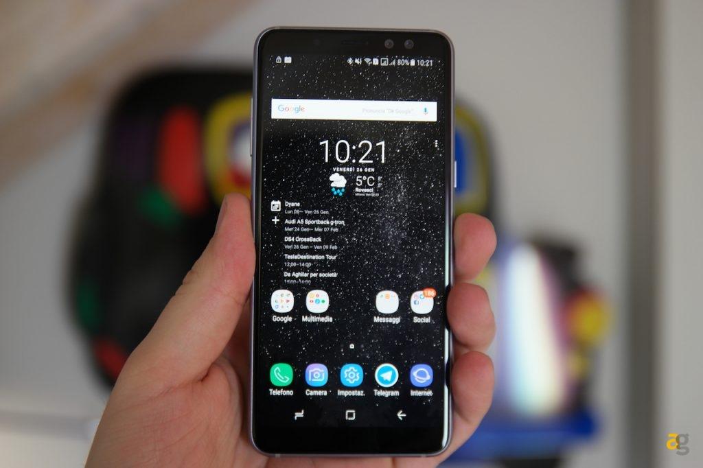Recensione Samsung Galaxy A8 Andrea Galeazzi