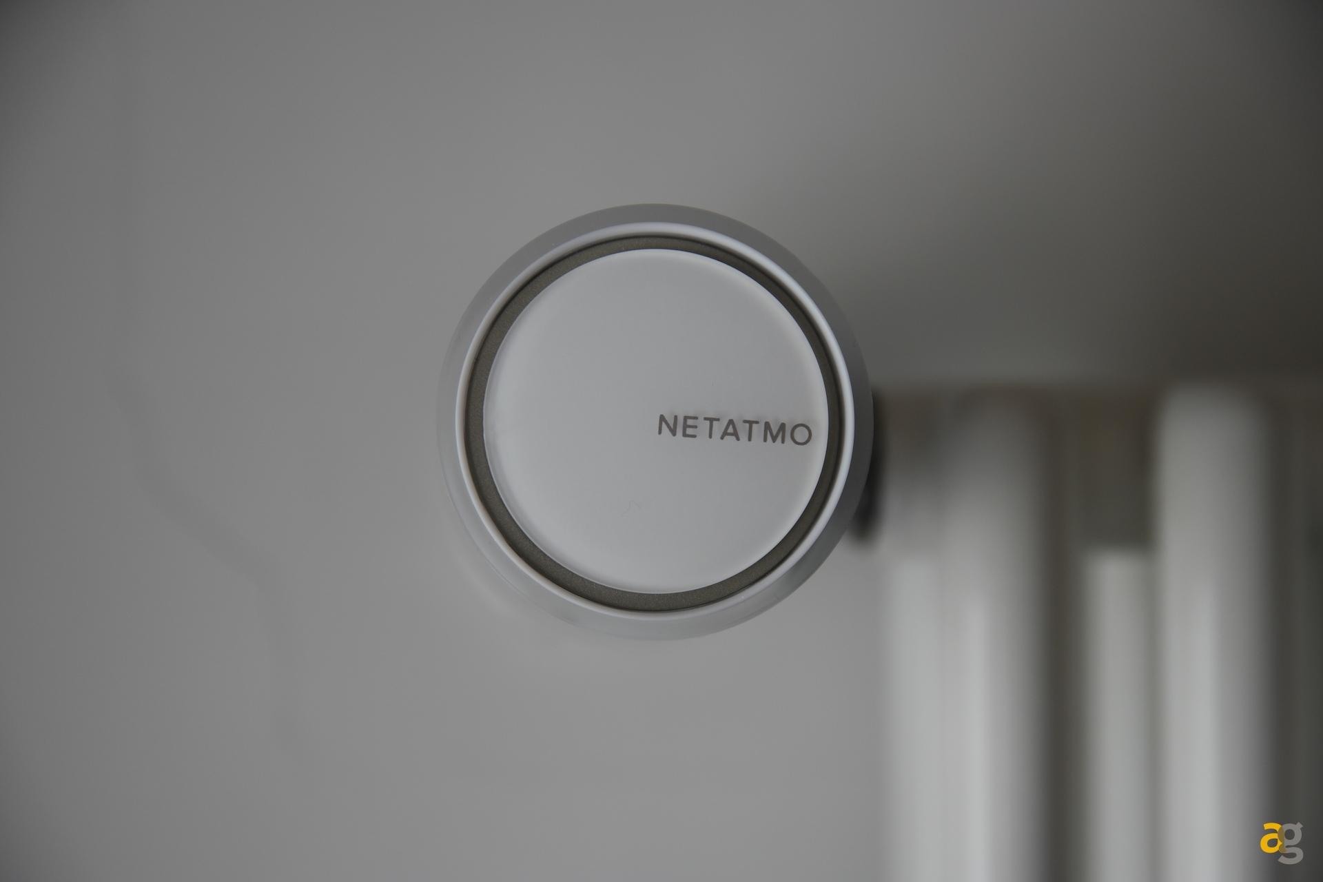 Recensione netatmo valvole termostatiche smart andrea for Valvole termostatiche netatmo