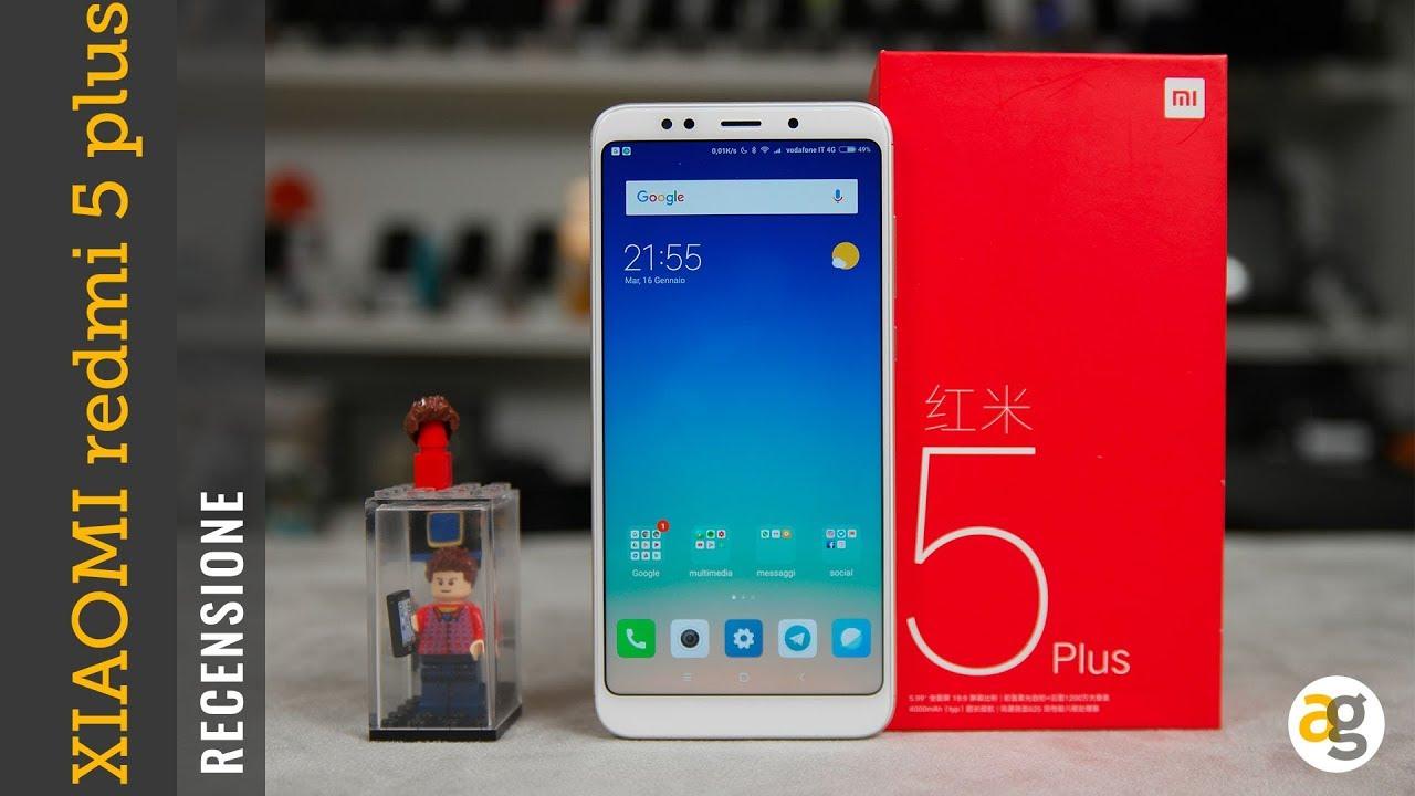Recensione Xiaomi Redmi 5 Plus Andrea Galeazzi