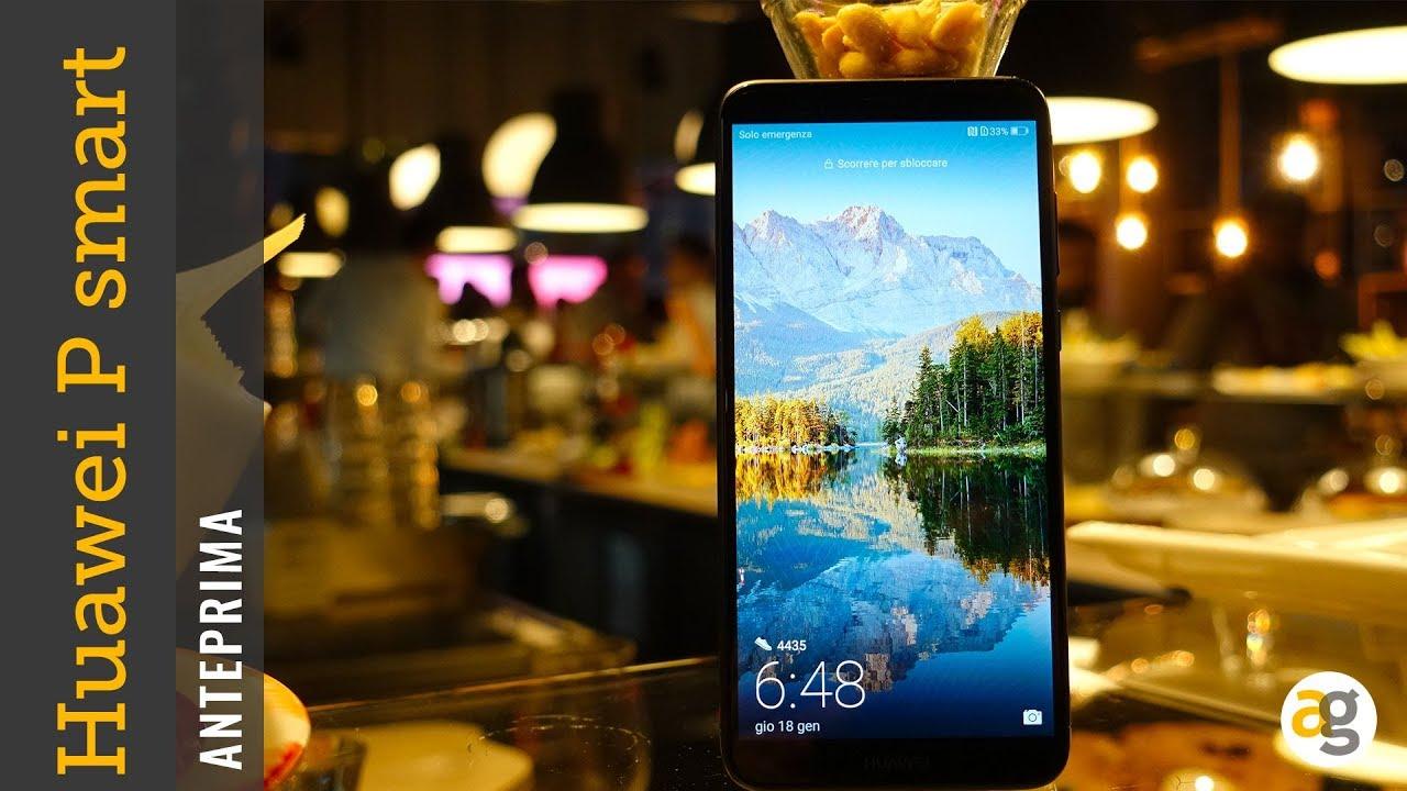 Anteprima Huawei P Smart Prezzo Specifiche E Prime Impressioni