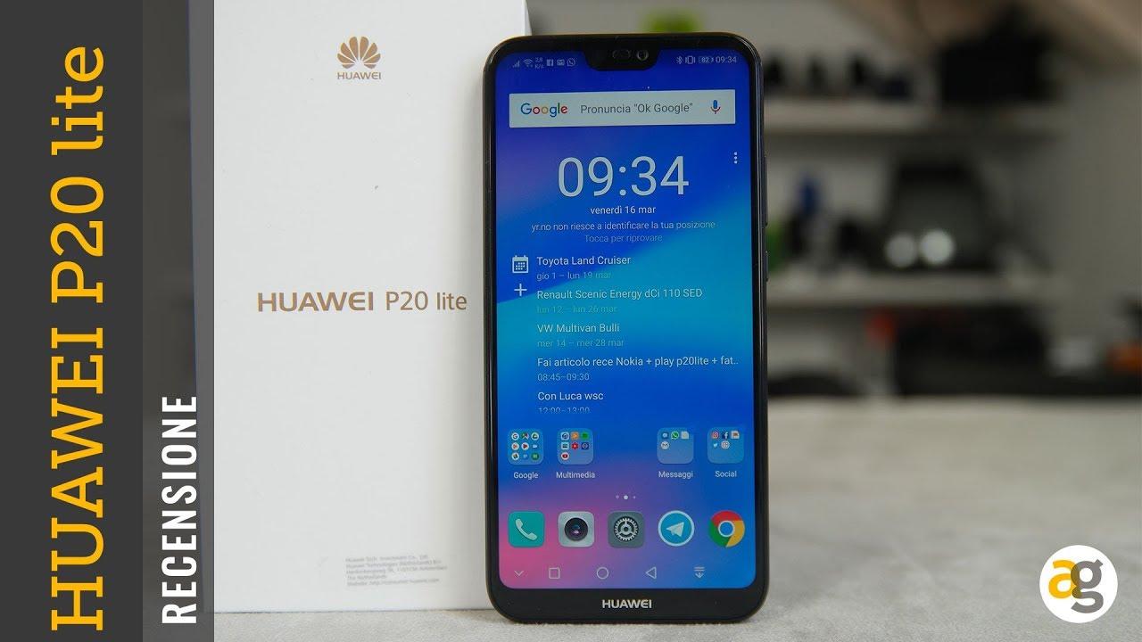 Recensione Huawei P20 Lite Andrea Galeazzi