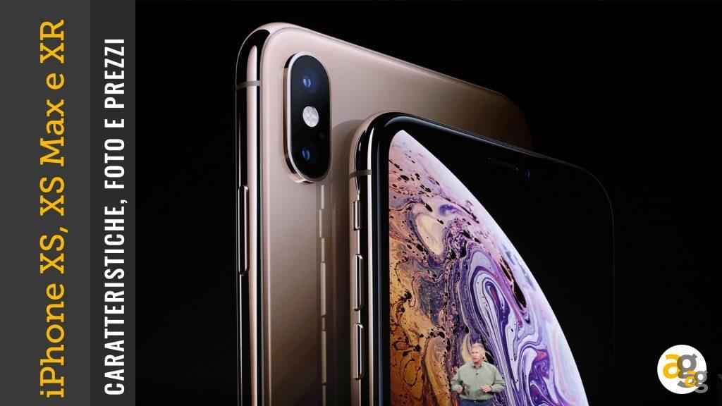 Ecco I Nuovi Iphone Xs Xs Max E Xr Caratteristiche Foto E Prezzi