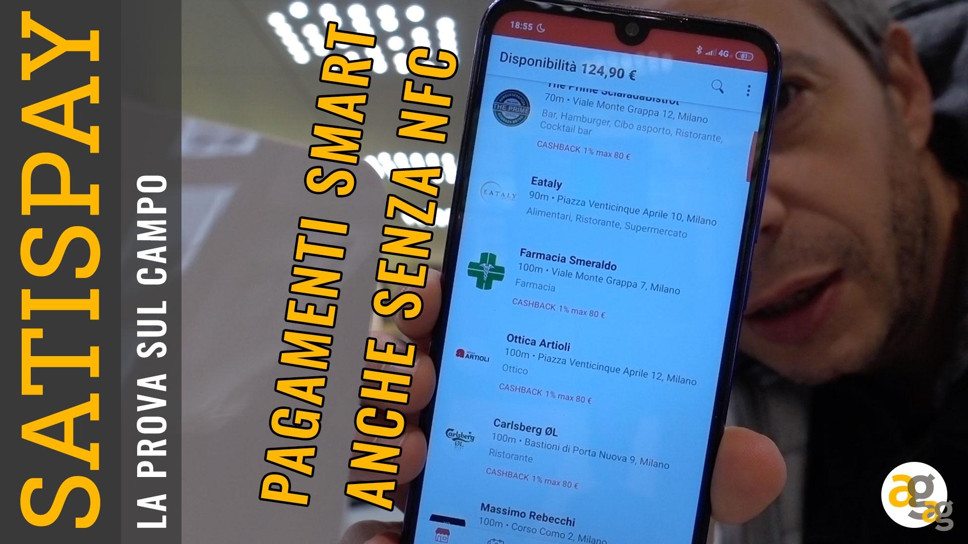b8228a81498c10 SATISPAY Prova sul campo. Pagamenti smart senza NFC – Andrea Galeazzi